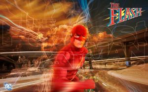 The Fastest Man Alive by Photopops