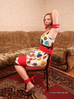 Alice Lee - tied to the chair 04 by Stervus