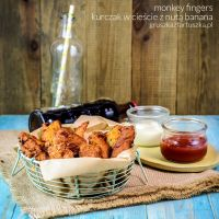 monkey fingers - chicken with banana batter by Pokakulka