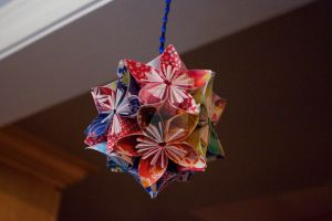 Hanging Flower Ball 2 by VickyDevart