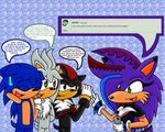 Ask Sonic, Shadow and Silver Q13 by Charlotterulesofteam