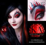 Devil Halloween Makeup (with Tutorial) by KatieAlves