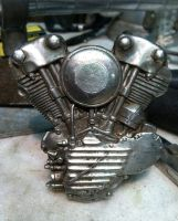 Knucklehead Belt buckle. by GerlachStyle