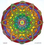 Mystical Web - Coloured by Mandala-Jim