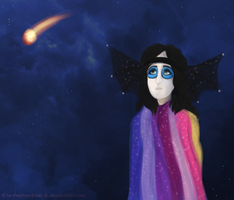 Your Thoughts Turnto the Stars by peaceboner