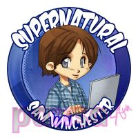 SPN Badge 2nd Edition by kumitawapa