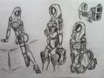 sketches Tali (39) by spaceMAXmarine