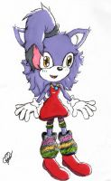 Princess Sparky :Colored: by Lolly-pop-girl732