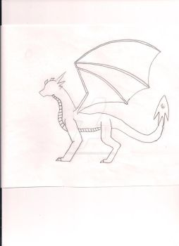 Genesis Dragon (Draft/Design 1) by wolfartist115