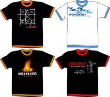 sample Pinoy band t-shirts by jhin22000