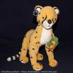 The Lion King - Cheetah plush by Applause (Dutch) by dapumakat