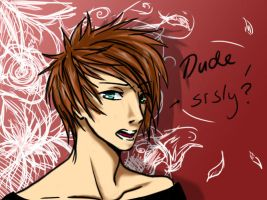 Dude, srsly. by HettaG