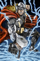 Thor Colored by pycca