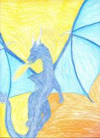 Saphira the Farest of Dragons by Crystalen-Designz