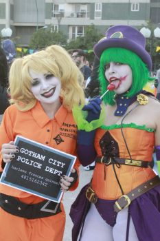 Harley Quinn and Duela Dent Cosplay by SailorMappy