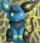 Ebony the Shinx :c: by izka197