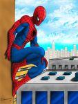 Spider on a Wall by ArtofJohnSimonson
