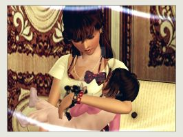 Time with Mommy by rockdaisy