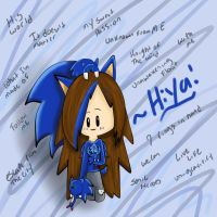 Sonic Me.... XD by creamandtails