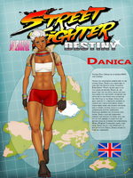 Street Fighter: Destiny Jam/ Danica by FreeMech