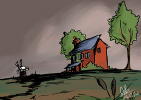 House in the Fens by Mr-Xvious