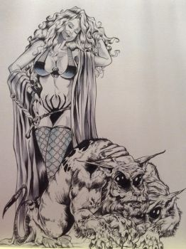 Lady Death By DW Miller by ConceptsByMiller