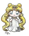 Sailor Moon - Neo Queen Serenity Chibi by sakkysa