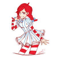 Wendy's ( just because) by lizzyki
