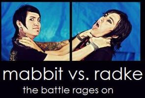 Radke VS Mabbit by faithlouisex