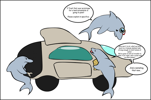Of Dolphins and Automobiles. by Lord-Fox