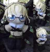 Commission, Mini Plushie Canada by LadyoftheSeireitei