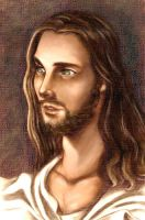 King Jesus by omgdrawme