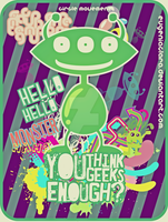 its an alien things by eugeniaclara