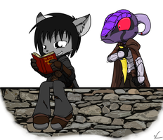 reading a book is dangerous by Sandwich-Anomaly