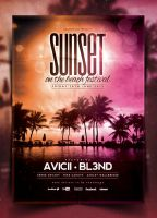 Summer Poster Template Vol. 1 by IndieGround