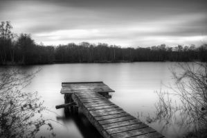 Long exposure of a lake by marschall196