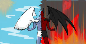 Heaven and Hell by Rox-ma-Sox