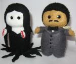 The Addams Family by deridolls