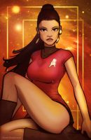 Star Trek UHURA by grantgoboom