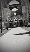 Heres Some Perspective in BW - Saint Boniface by Joe-Lynn-Design