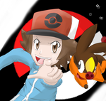 Black and Tepig GO!! by AnimatorMX