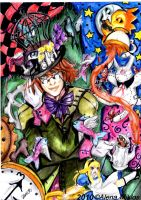 mad hatter by Alena-M