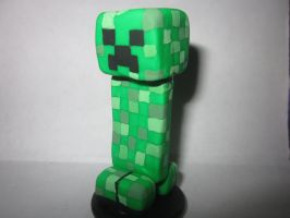 Polymer Clay Creeper by Darklunax110