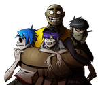 The Band by DrZombieFox