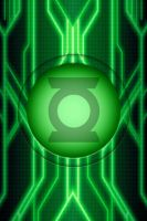 tron green lantern suit idea test 1 by KalEl7