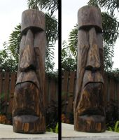 Cypress Moai by tflounder