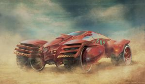 OASIS sand racer by SamMuk1R1