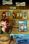 Defying Gravity Page I by Golden-Trio