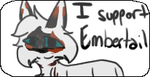 I Support Embertail :stamp: by Sunfur25