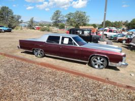 1979 Lincoln Continental Town Car (Customized) by TheHunteroftheUndead
